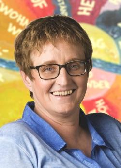 Dagmar Wieczorek Portraitaufnahme