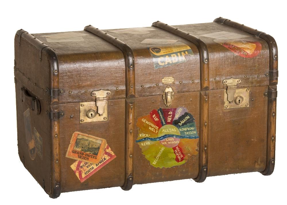 Koffer Heldenreise